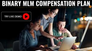 Binary mlm compensation plan