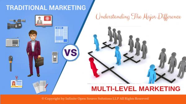 network marketing vs traditional marketing