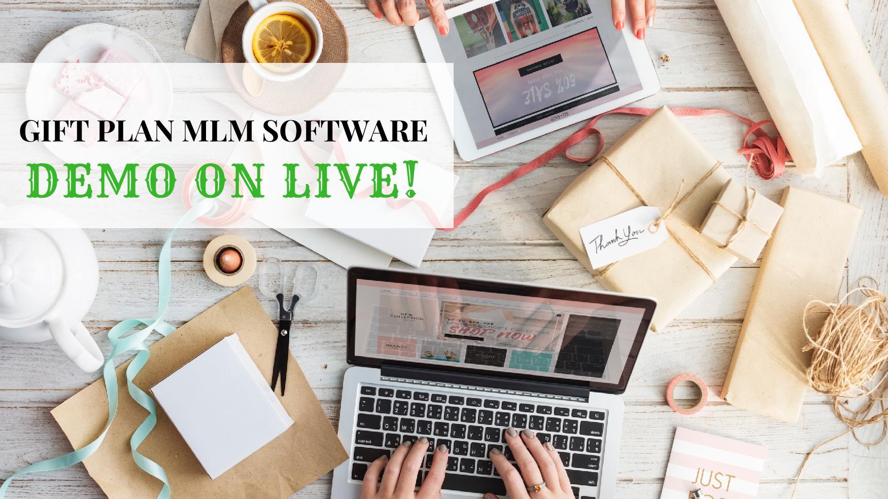 gift mlm plan software
