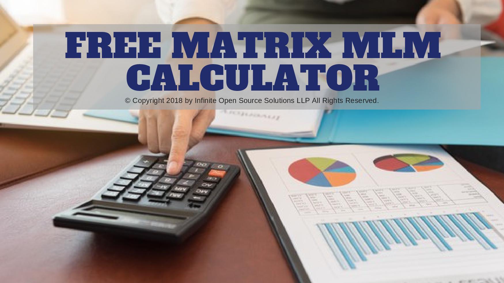matrix mlm calculator