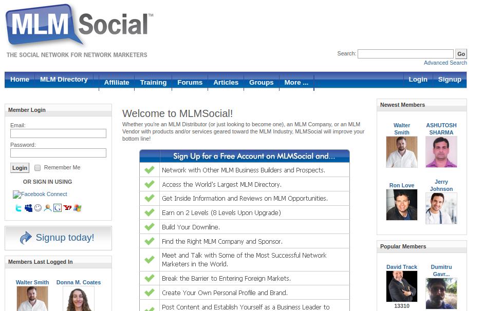 mlm social