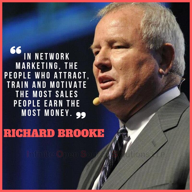 richard brooke network marketing quotes