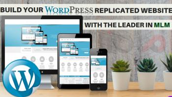 WordPress Replicated Website